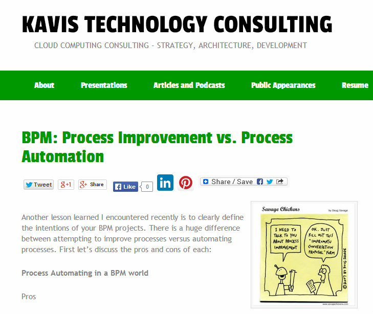 business process improvement vs enterprise process automation integration development | Clarity