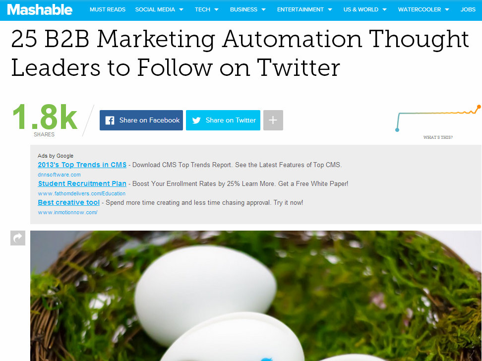 marketing automation and systems integration for enterprise business thought leaders to follow on twitter | Clarity