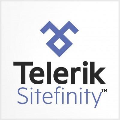 Sitefinity Telerik logo