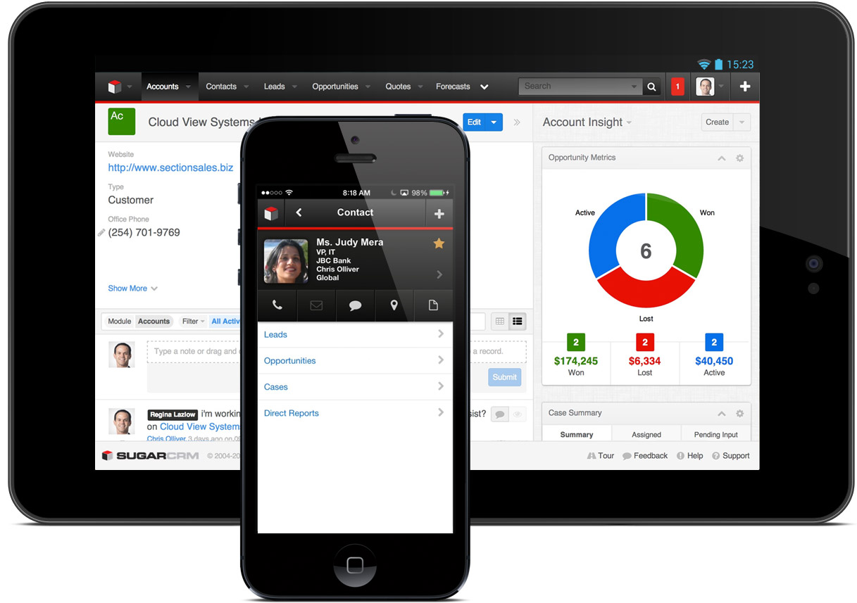 Clarity ecommerce improves Sugar CRM interactions