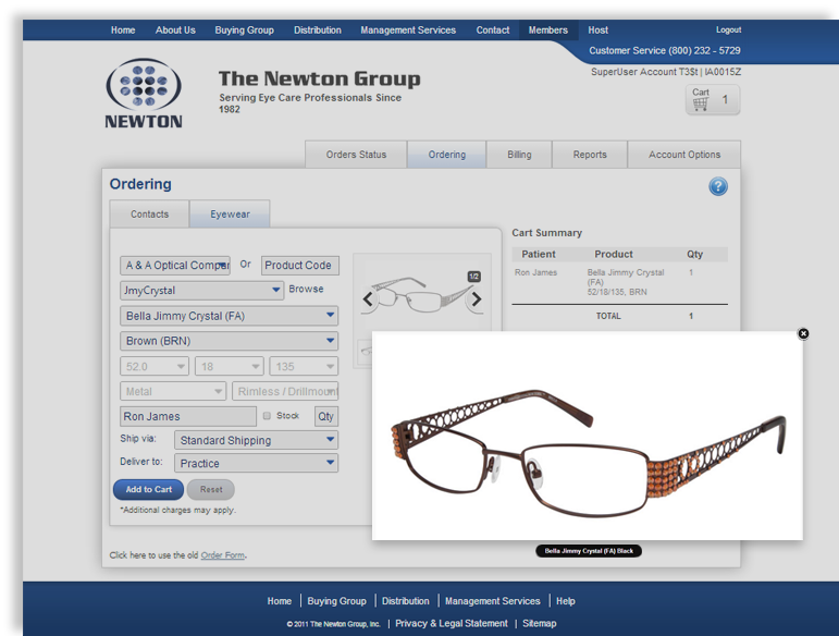Clarity B2B eCommerce examples