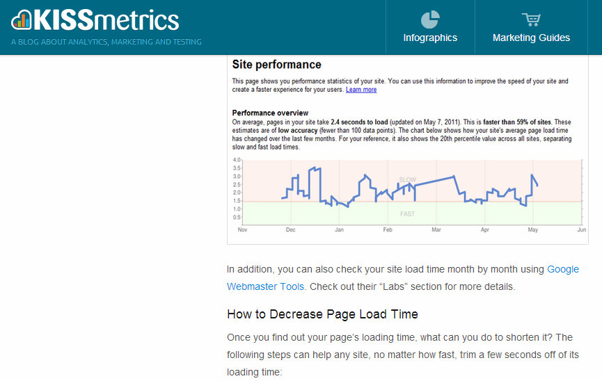 how to improve web site speed for enterprise-level websites | Clarity