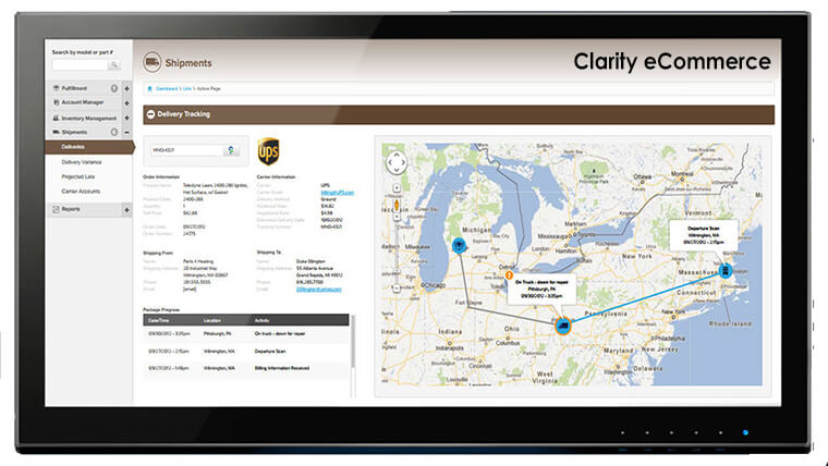 Clarity provides visibility into supply chain management