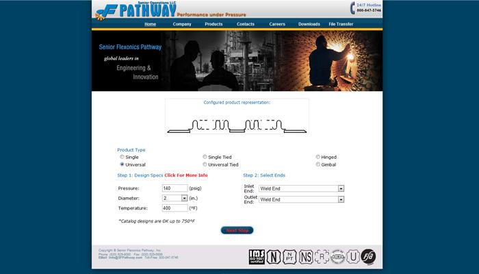 b2b ecommerce website example - sfp