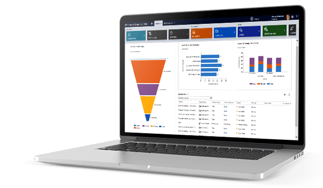 Dynamics CRM Dashboard for eCommerce Integration