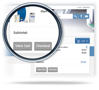Clarity eCommerce intuitive checkout for enterprise and b2b, request for quote
