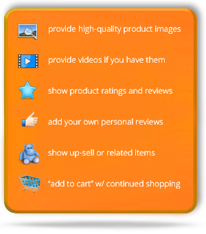 Clarity eCommerce solutions for related similar product upsells