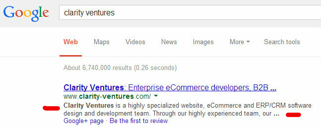 meta descriptions in seo friendly ecommerce product pages
