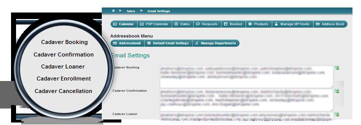 Clarity SmartSchedule email notifications